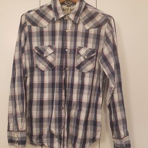 Lucky Brand long sleeve Western shirt
